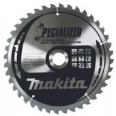 Makita 190x30mm TCT Circular Saw Blade for Knot & Nail Cutting - 40 Teeth (B-09503)